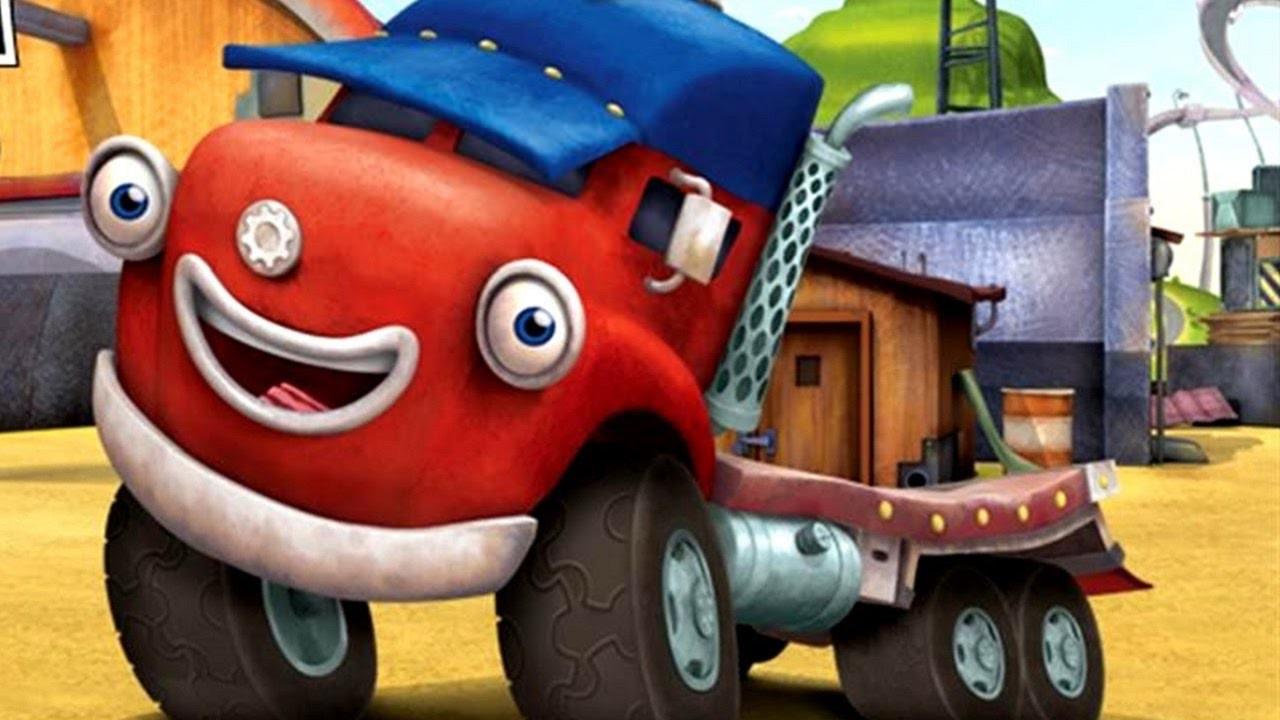ПРЕМЬЕРА Трактаун - Новый мультик про машинки - Трудная трасса - Грузовик Джек и его друзья