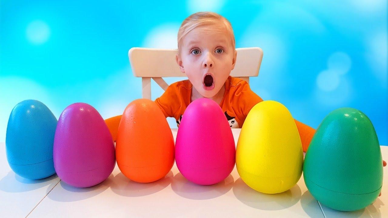 Я — Алиса — Алиса ищет разноцветные яйца с сюрпризами / Новые серии
