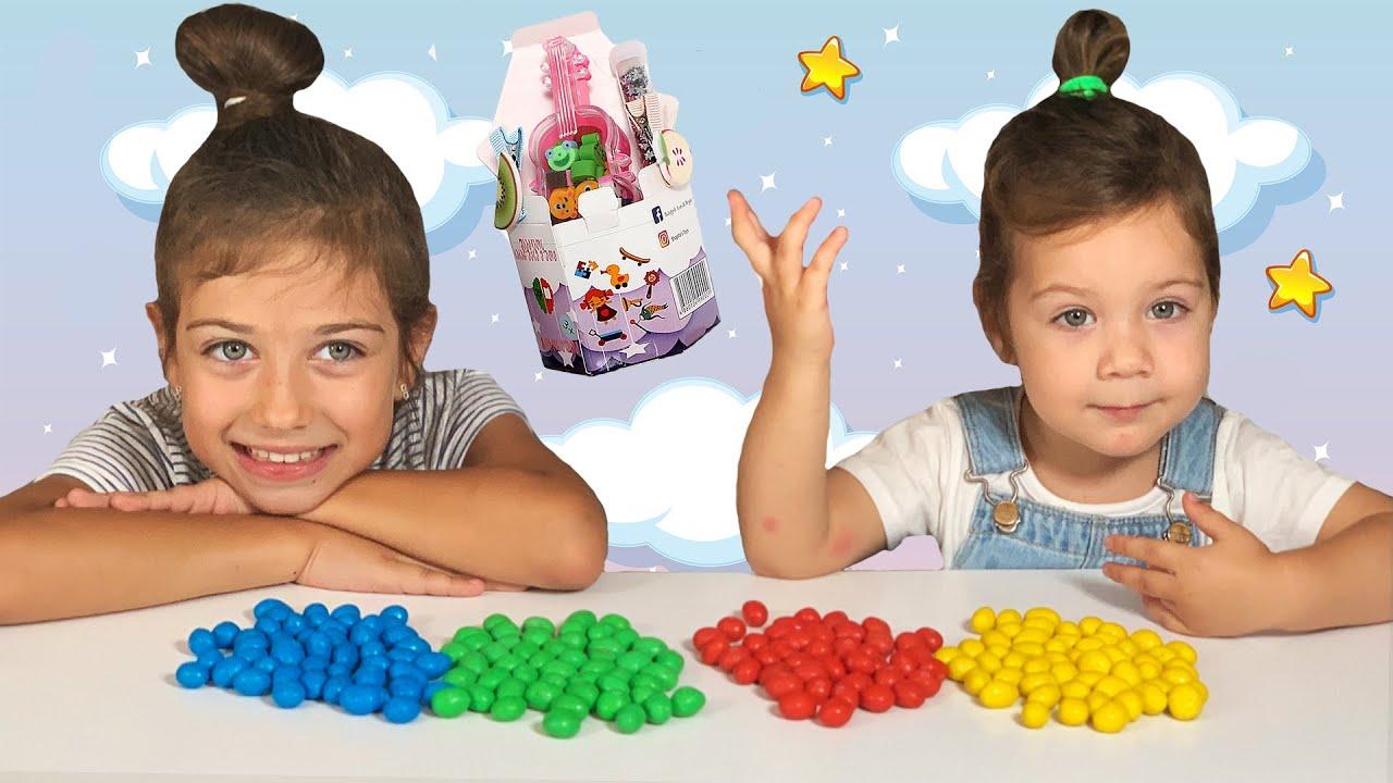 Эмилюша представляет — Sweet Emily & Daniella Pretend Play Magic Shower