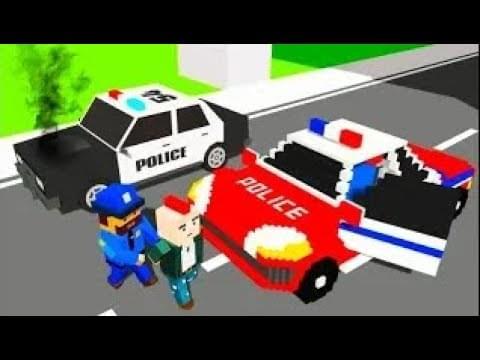 Анимашка Познавашка — Мультик игра про машинки и город Майнкрафт Самое новое видео для малышей про машинки.