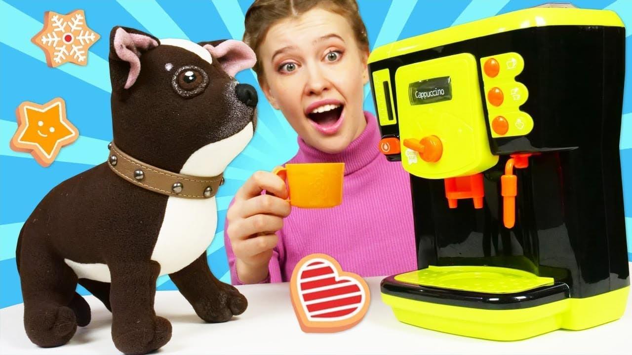 Как МАМА — Печенье плей до для Шоколадки — Игры Как мама для игрушек — Мультики для детей