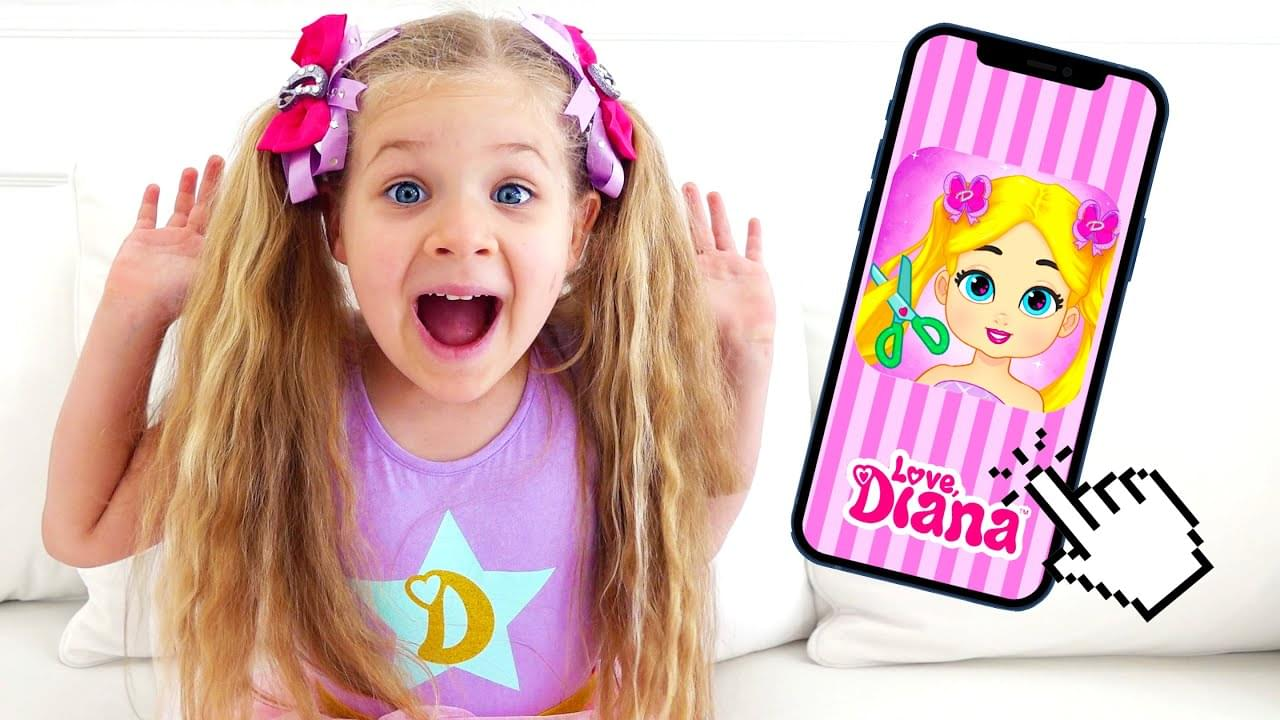 Кидс Диана Шоу — Diana and Love, Diana Dress Up — new game for kids