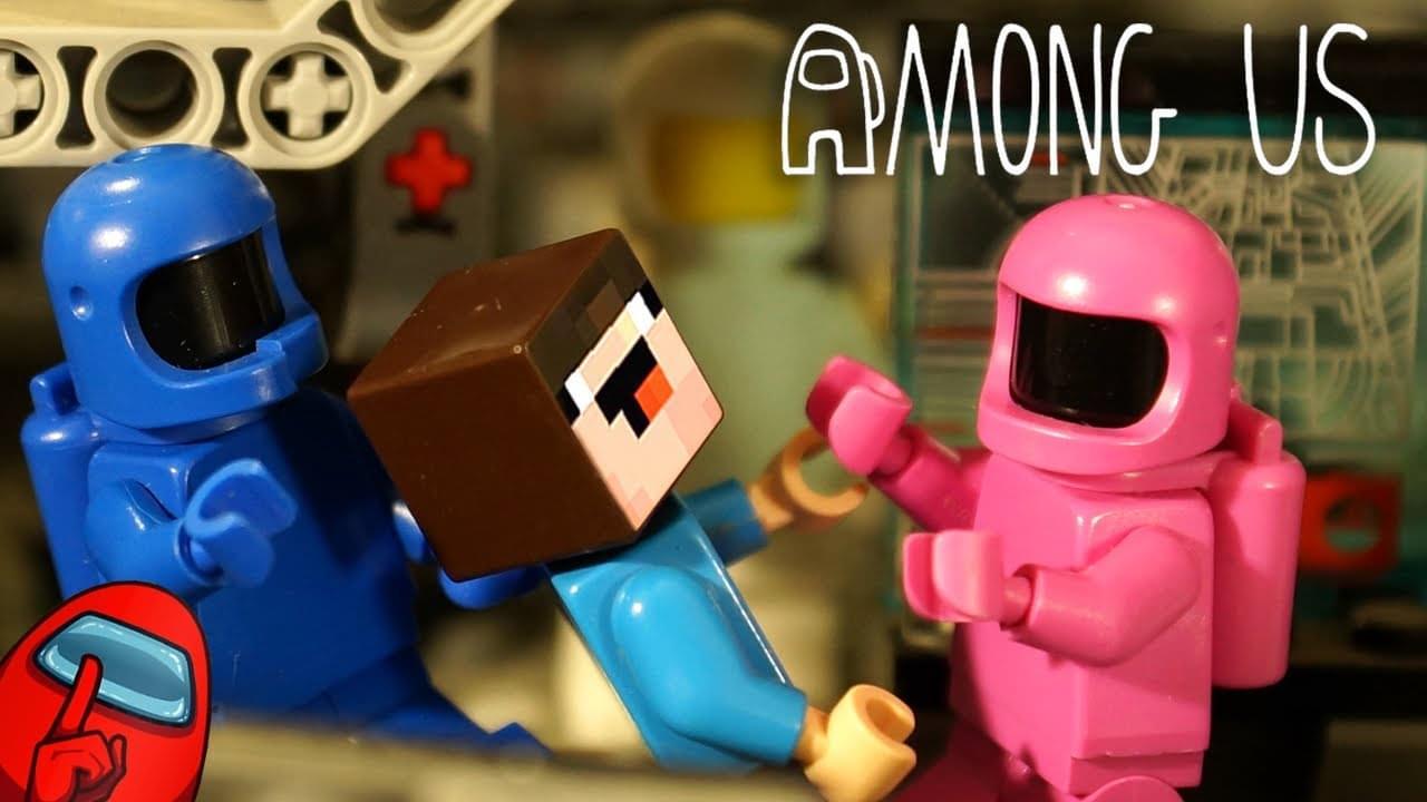 Кока Туб — Among Us LEGO и НУБик Майнкрафт + Читы Амонг Ас