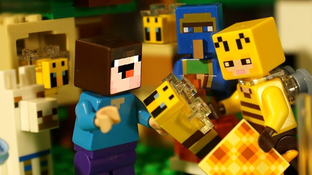 Кока Туб — Лего Майнкрафт 2021 Пчёлы, Торговец и LEGO НУБик Minecraft — Анимация
