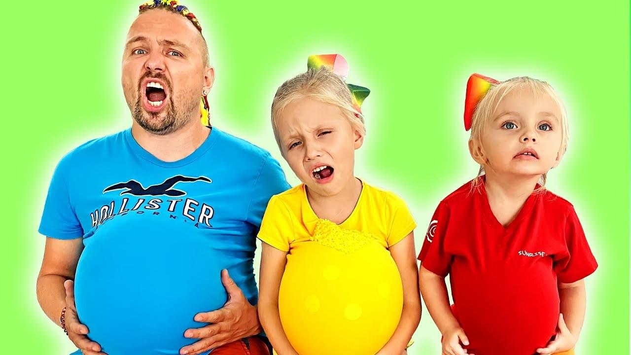 Я — Алиса — Kids and dad are examples of proper behavior