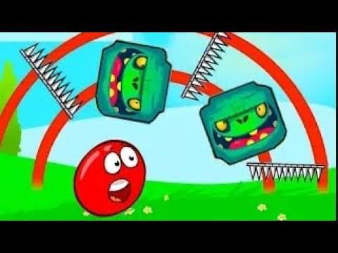 Анимашка Познавашка — Красный шар самое новое видео 2020 года! Мультик игра с новыми приключениями для малышей.