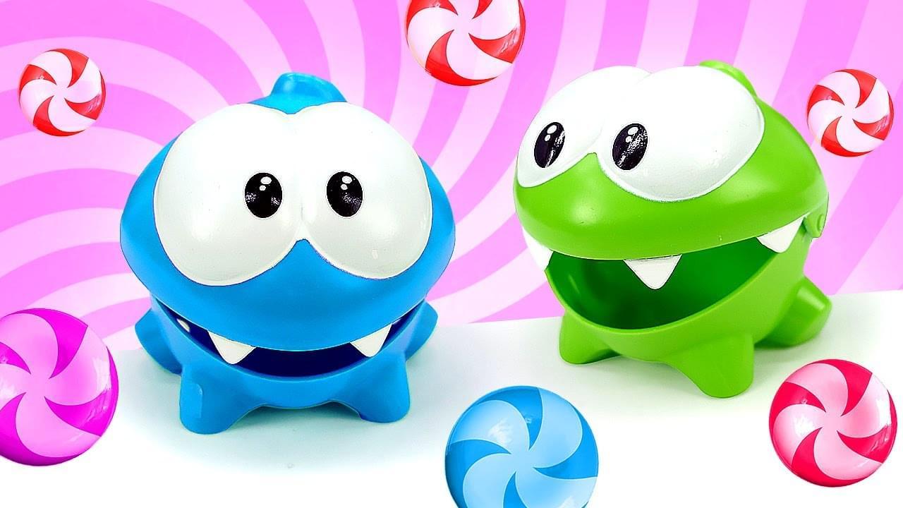 ДиДи ТВ — Ам Ням и его новый необычный друг! Смешные монстрики в видео для детей