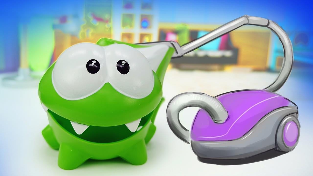 ДиДи ТВ — Монстрик Ам Ням и пылесос: уборка в квартире! Игры для детей