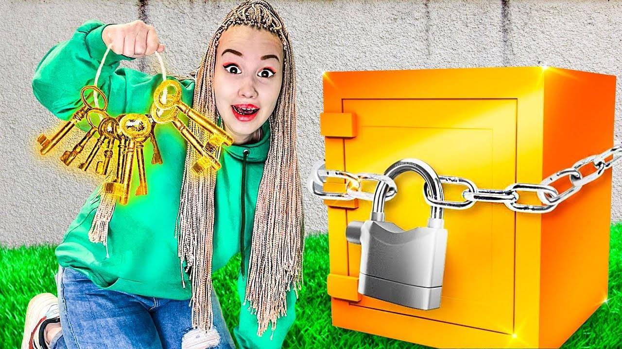 Нашли 1000 Ключей К Таинственному Ящику!