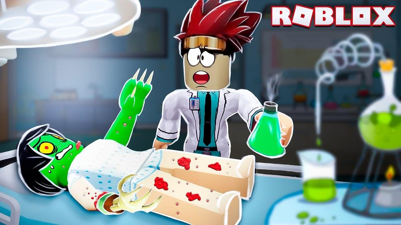 Жестянка — Тестирую вирусы в секретной лаборатории Роблокс !