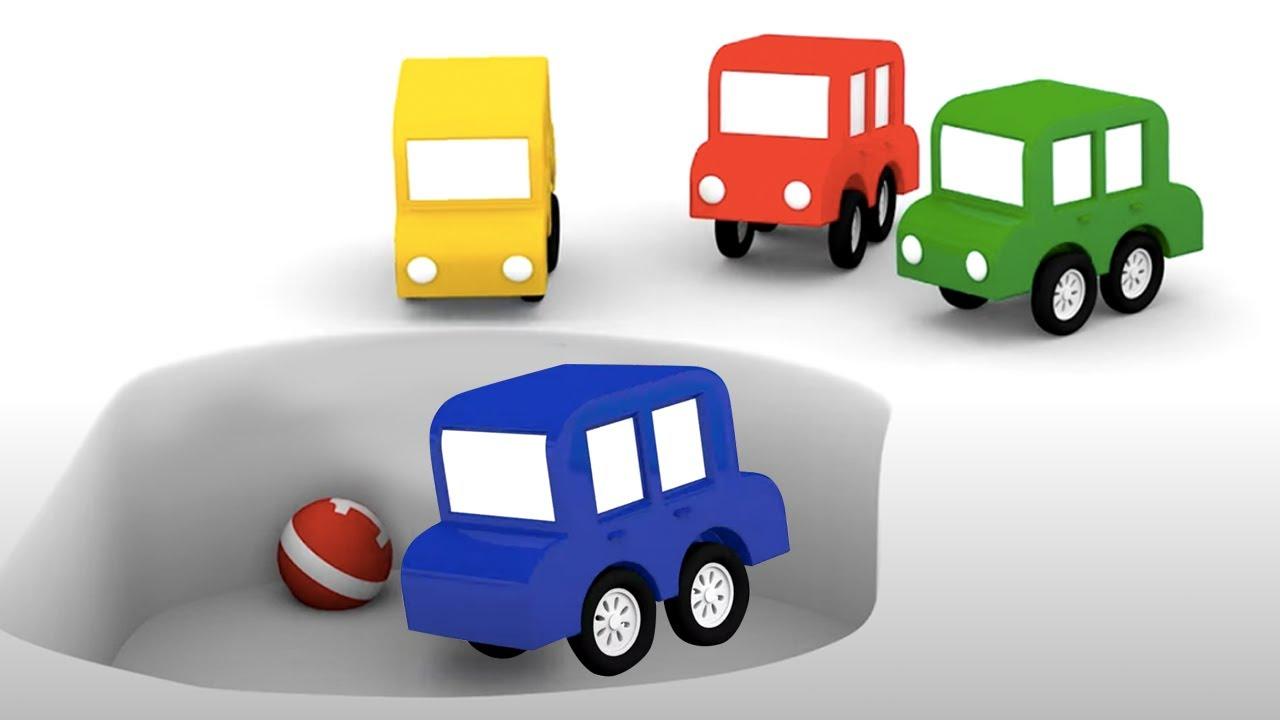 ДиДи ТВ — 4 машинки ищут друг друга! Развивающие мультики про машинки для детей. Сборник серий