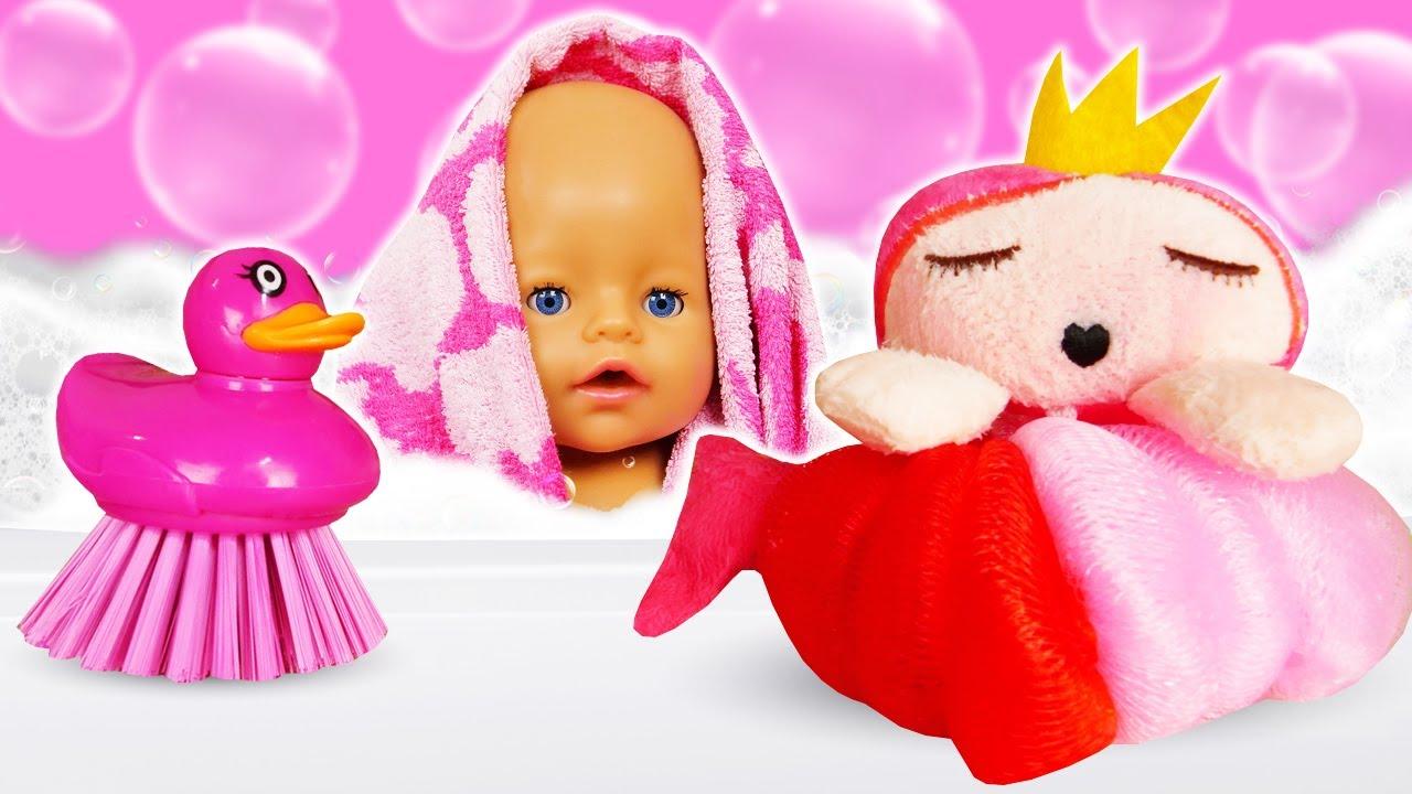 ДиДи ТВ — Пора купаться, кукла Беби Бон! Видео для малышей про игрушки