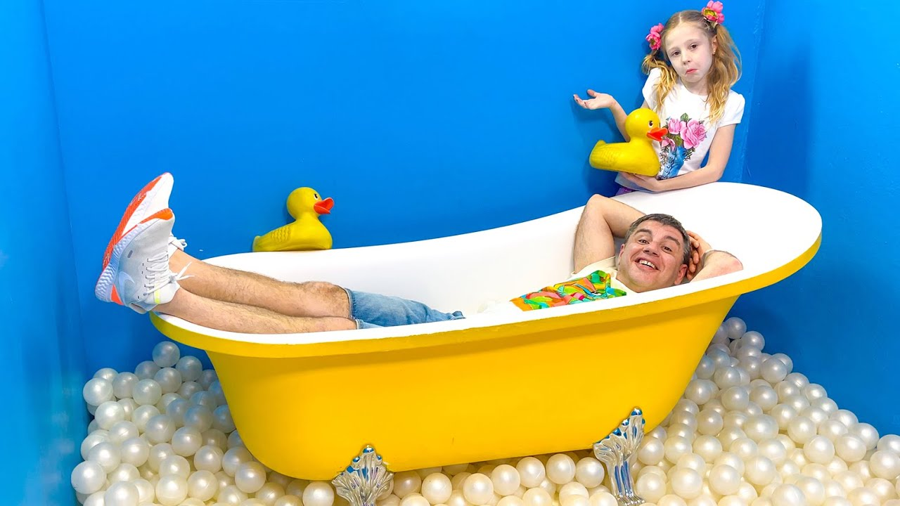 Nastya and Dad — One wonderful family day of fun