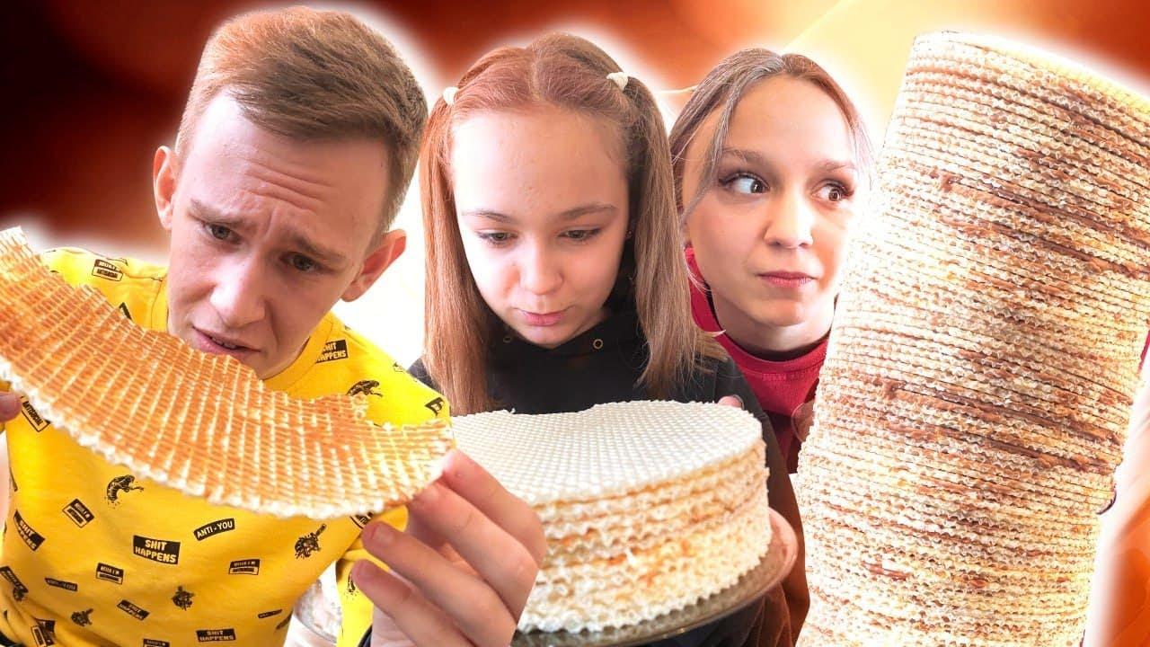 10 в 1 Челлендж! Самые популярные челленджи с едой!