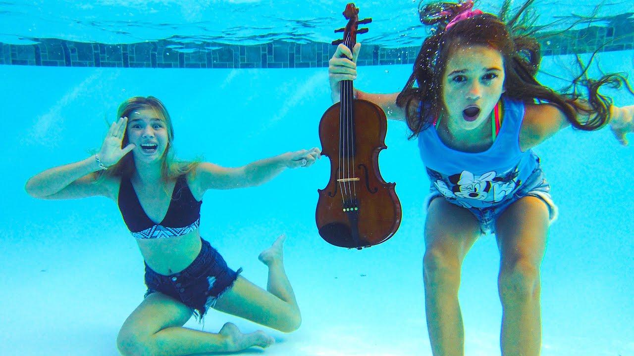 Барвина — Маргарита бросила скрипку Каролины Проценко в бассейн!