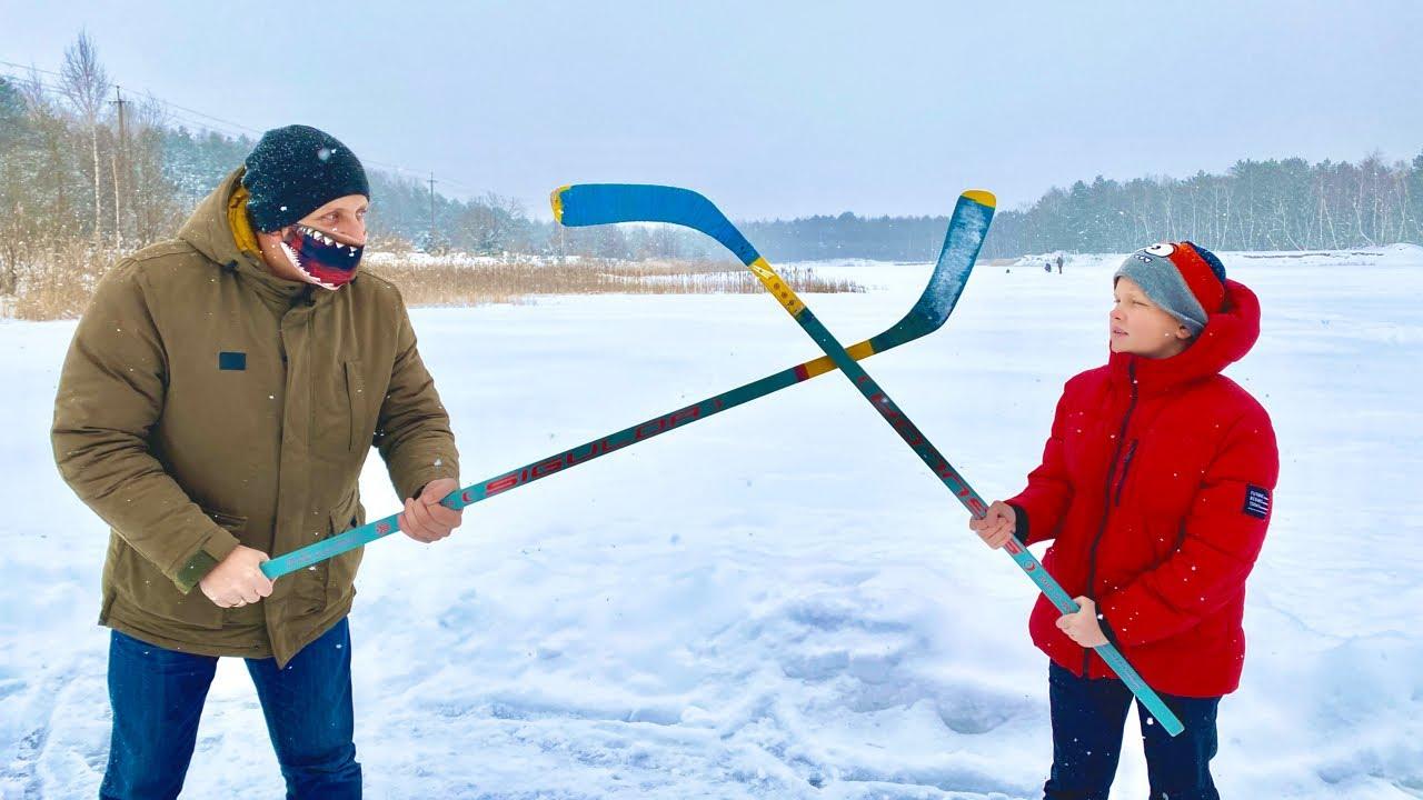 Брос Шоу — Прямой Эфир. Едем играть в хоккей. Брос шоу