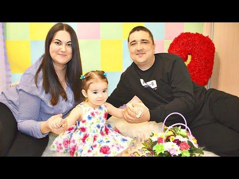 День Рождения Ани 2 годика