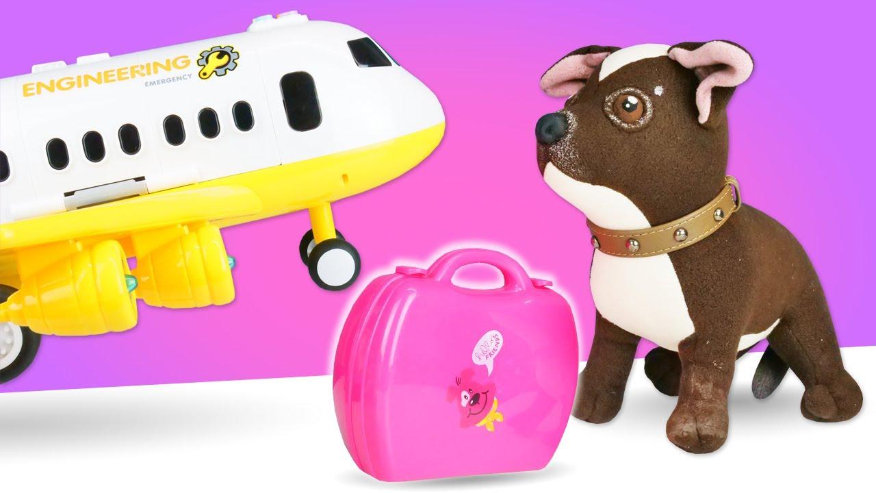 Как МАМА — Игрушка собака Шоколадка летит на море в Турцию к Маше Капуки Кануки! Видео для девочек