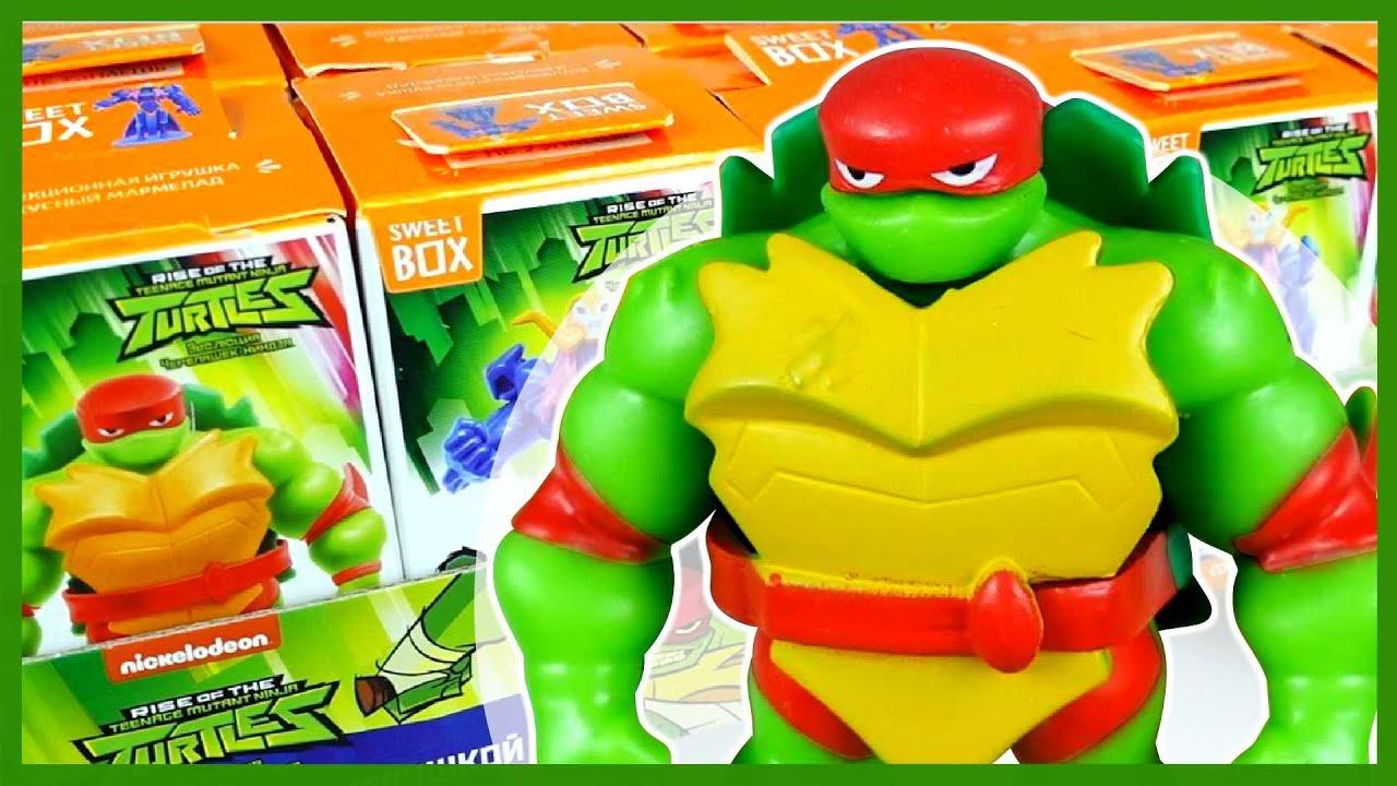 Каляка Маляка — Черепашки-Ниндзя Эволюция от Свитбокс. Teenage Mutant Ninja Turtles.