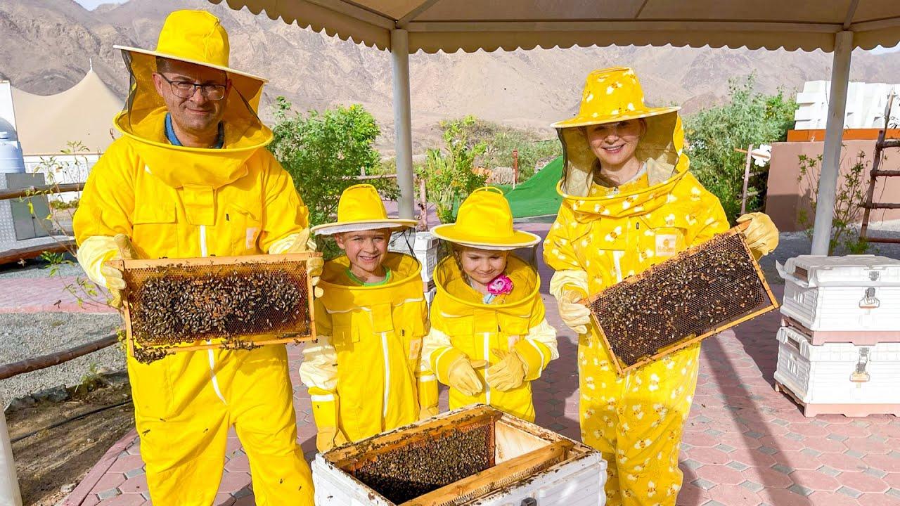 Кидс Рома Шоу — Roma and Diana Learn about Bees