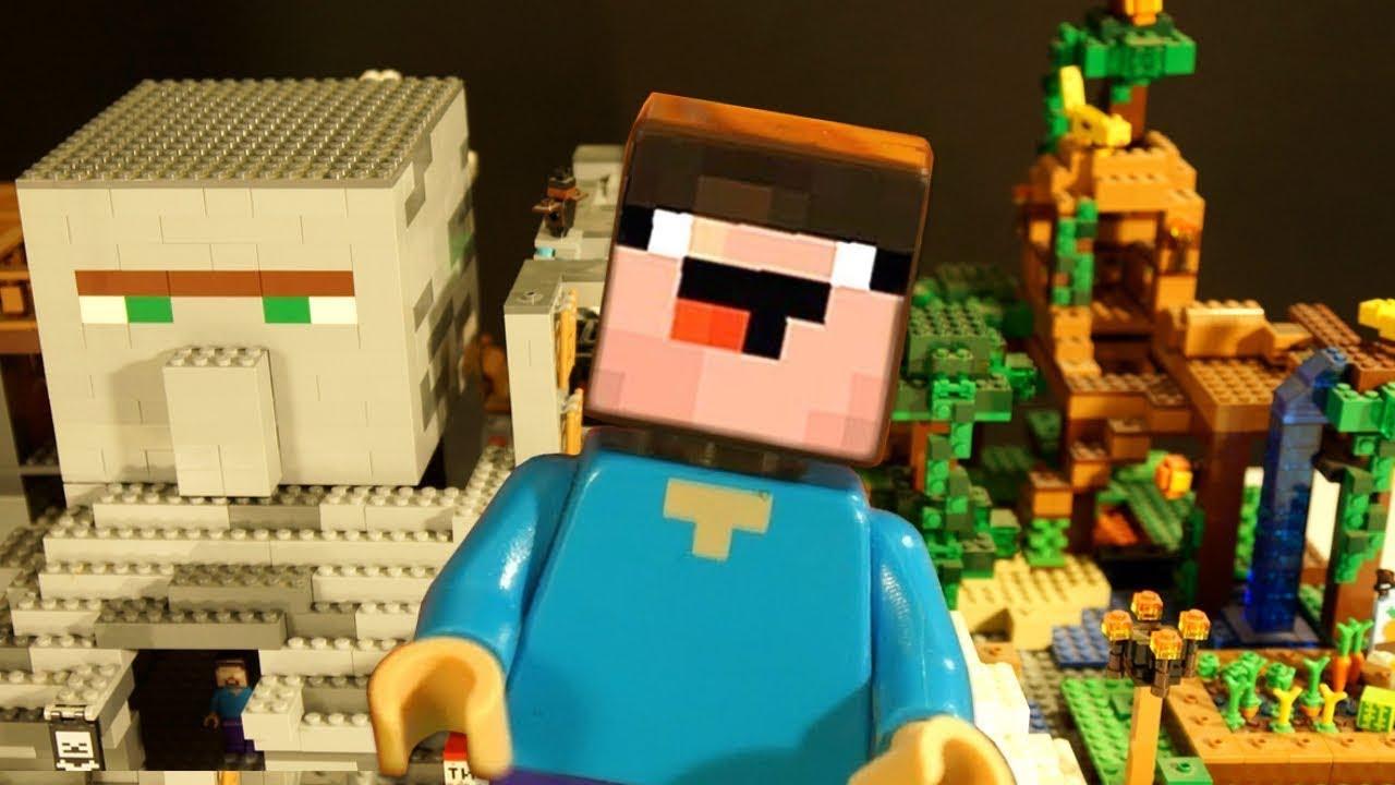 Кока Туб — LEGO Minecraft САМОДЕЛКА и Выживание Лего НУБика