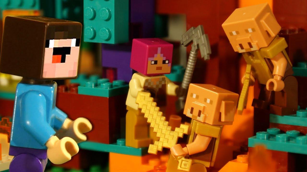 Кока Туб — Первое Приключение и Искаженный Лес для Лего НУБика в Майнкрафте
