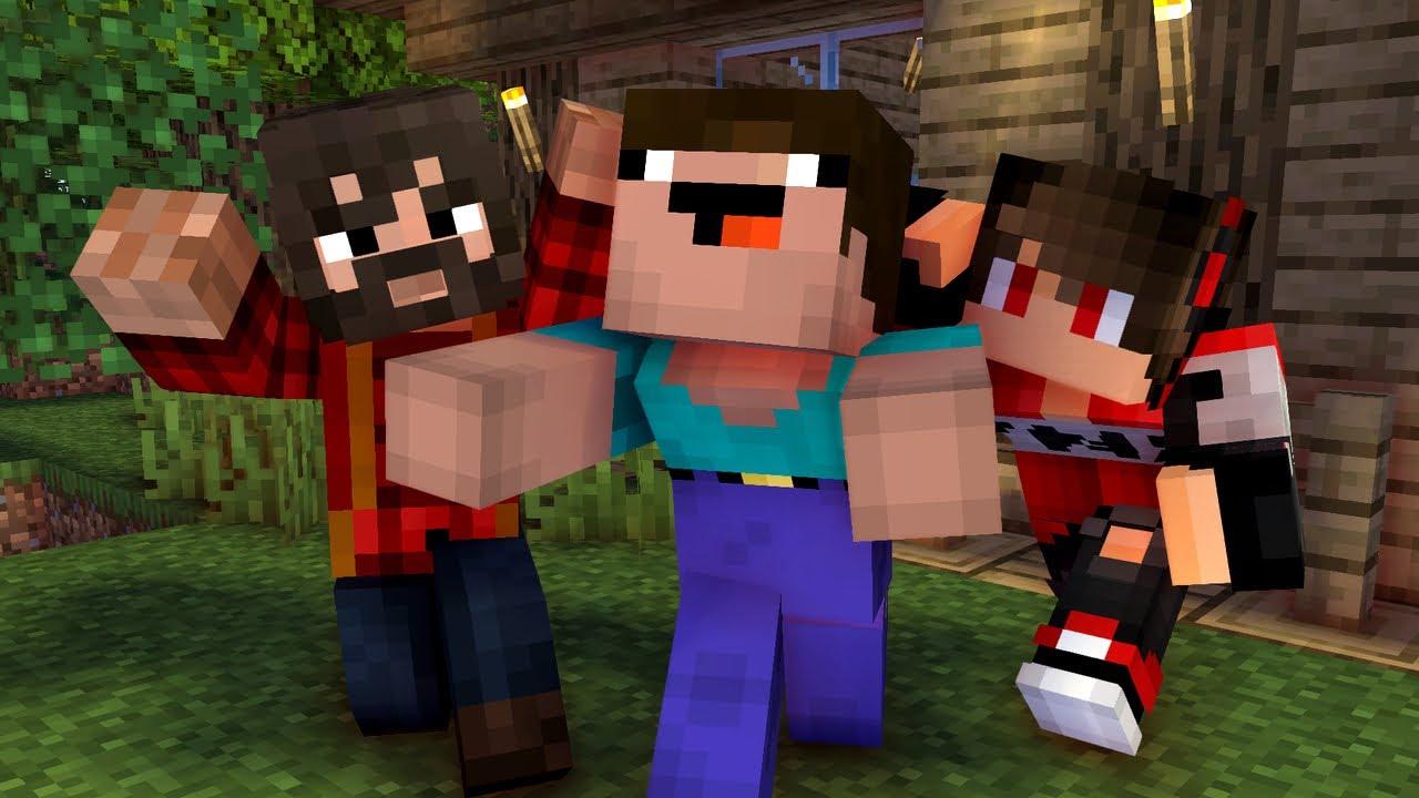 Кока Туб — Жизнь НУБика в Minecraft — ФИЛЬМ 1 — Анимация