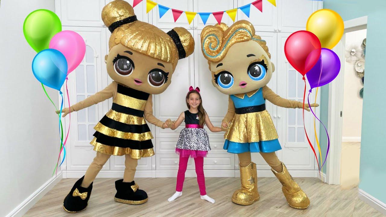 Маленькая Мисс София — День Рождения Софии вечеринка в стиле Лол! Happy Birthday Sofia — funny party with Friends!