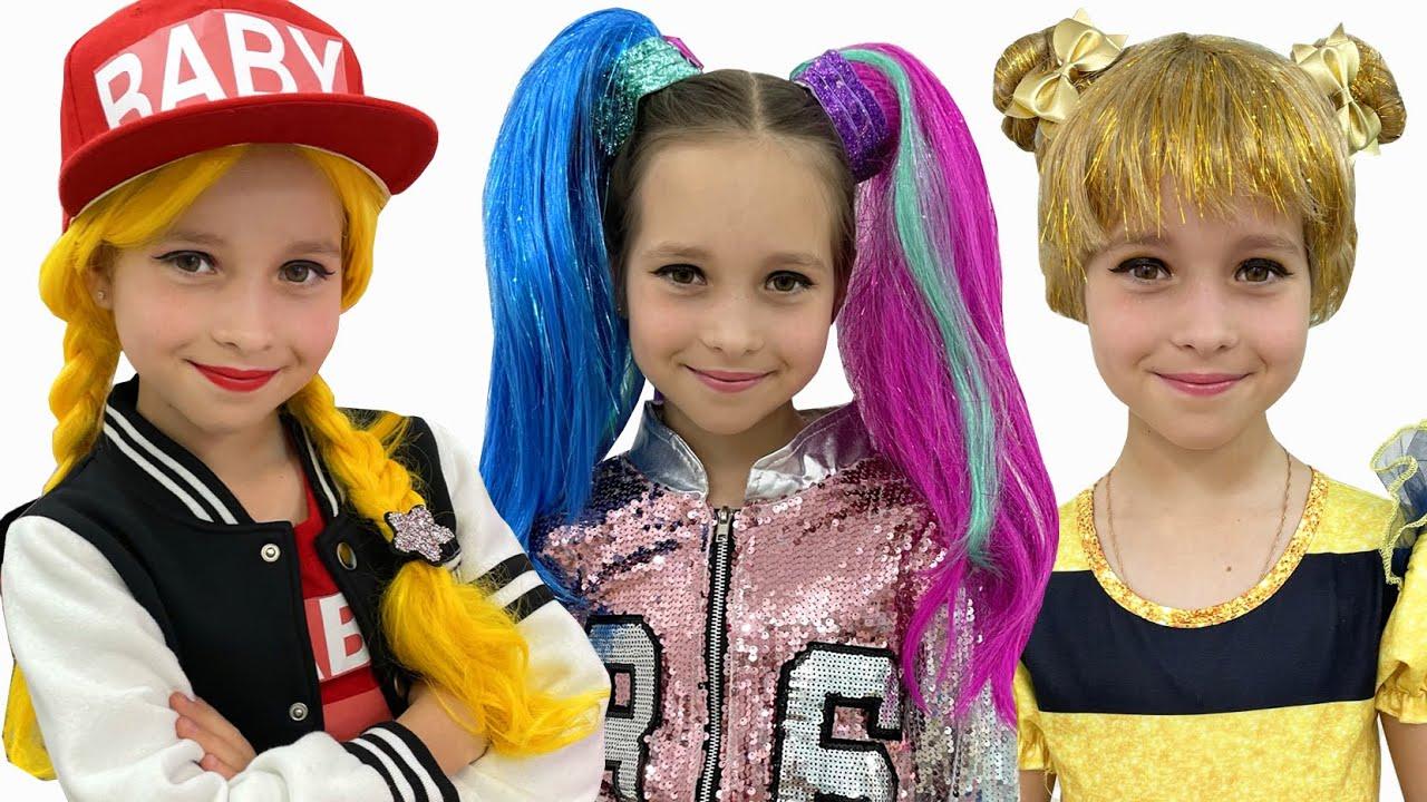 Маленькая Мисс София — София выбирает костюм на детскую вечеринку! Sofia going to de Kids Party!