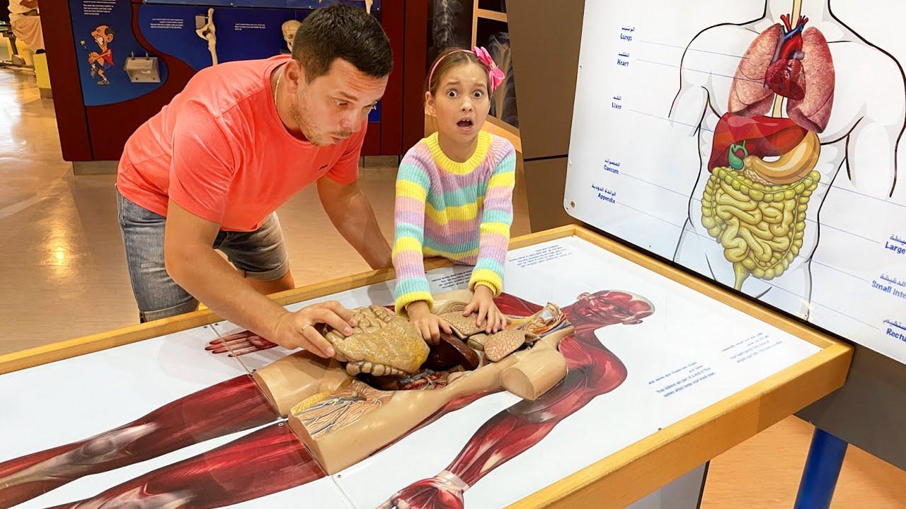 Маленькая Мисс София — София и папа играют в детском Музее науки