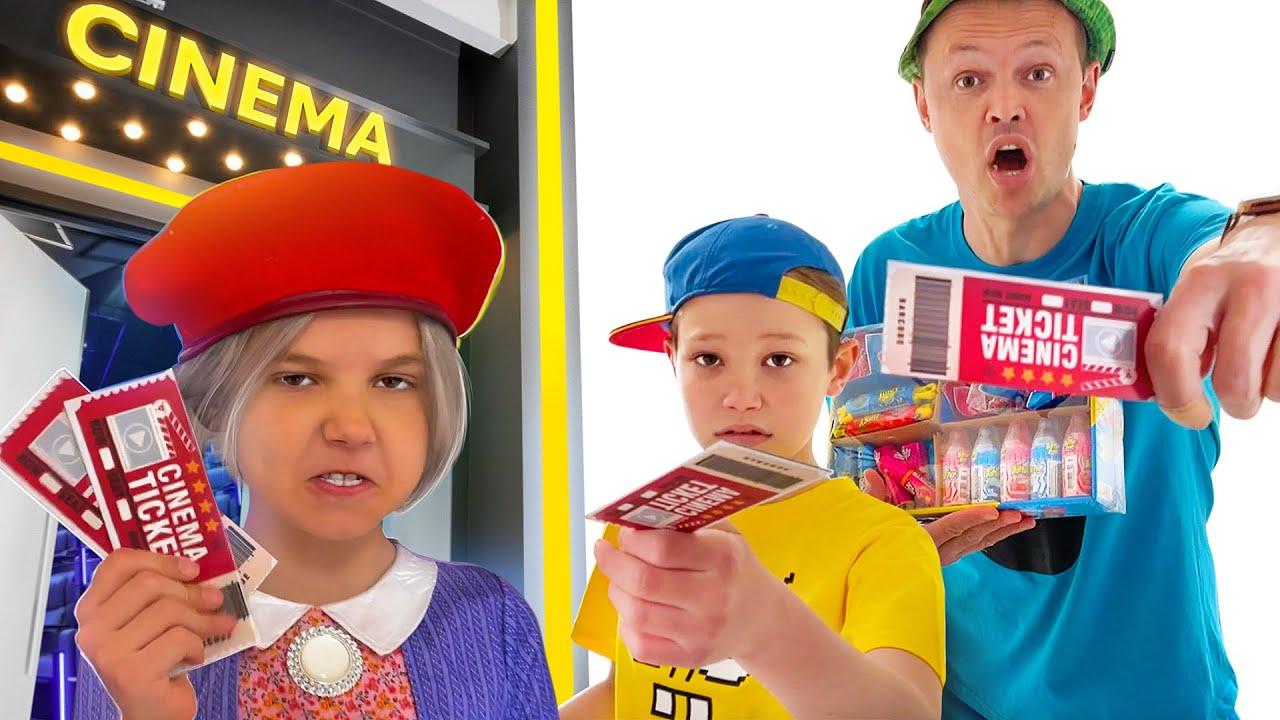 Мистер Макс — Как Макс и папа проносили сладости в кинотеатр