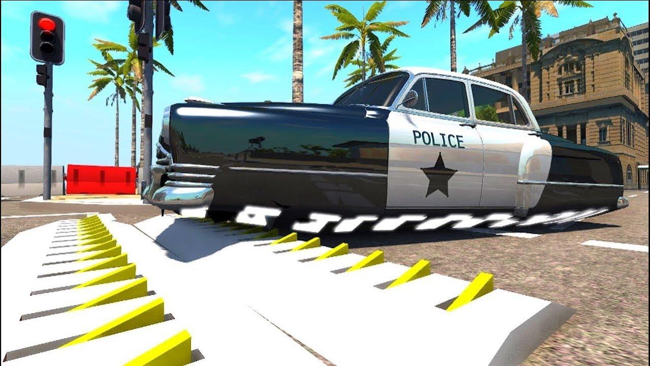 Мультики про машинки — Полицейские машины и украденный сейф.
