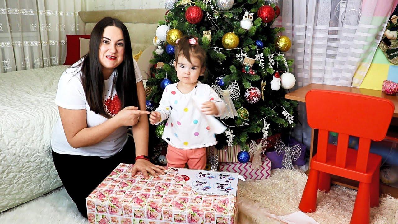 Посылка из Лондона подарок для Ани от Кати и Макса