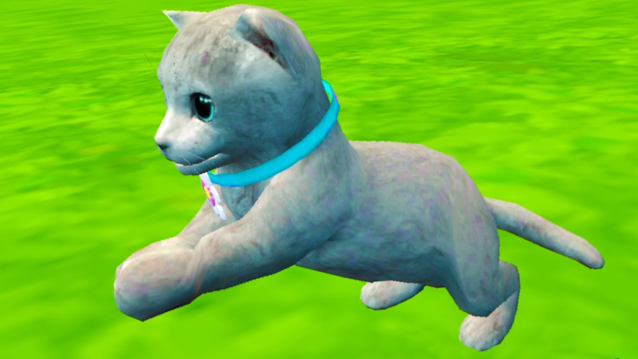 Пурумчата — Симулятор Кота #7 Карусели и Аттракционы с Серым котенком в Cat Simulator Kitty Craft на пурумчата