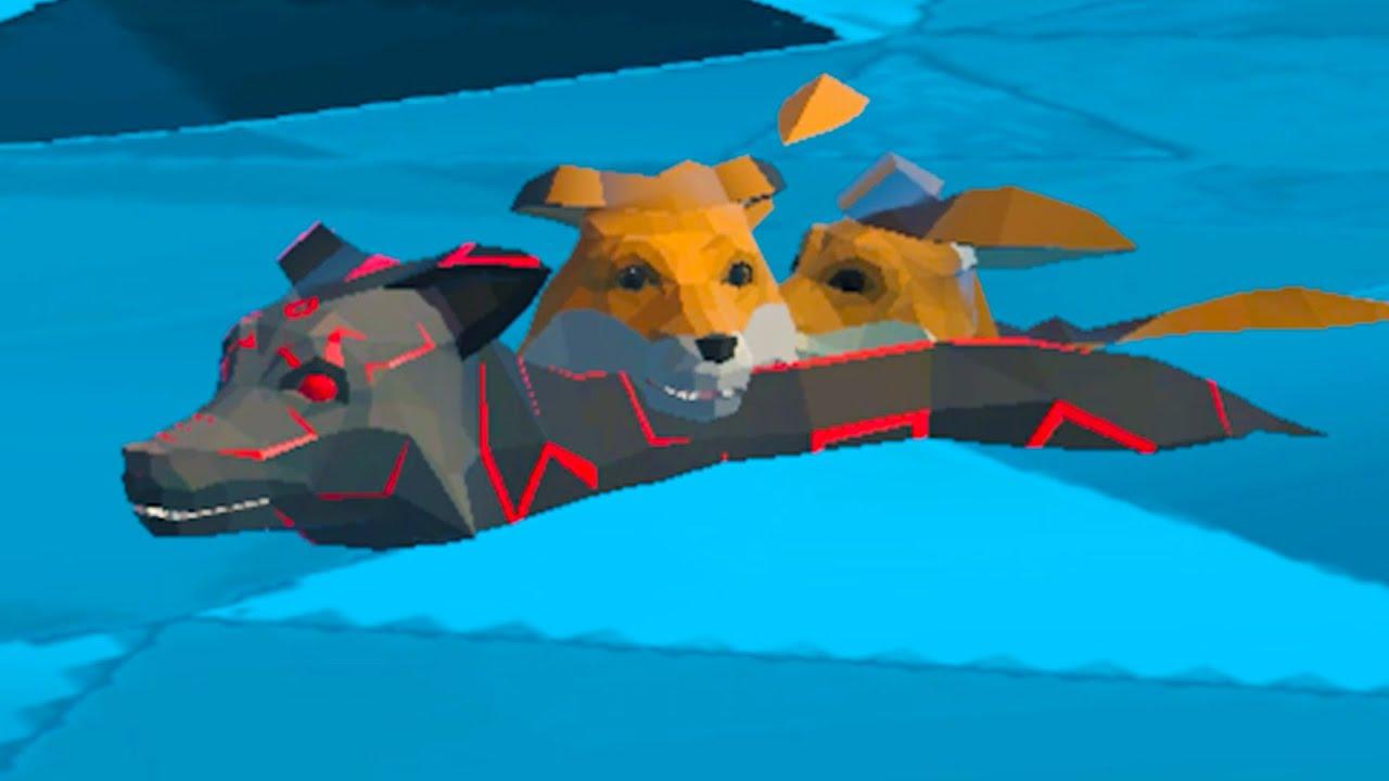 Пурумчата — Симулятор Лисы #3 Черный и белый лис Кида. Семья лисят в Fox Family Animal Simulator на пурумчата