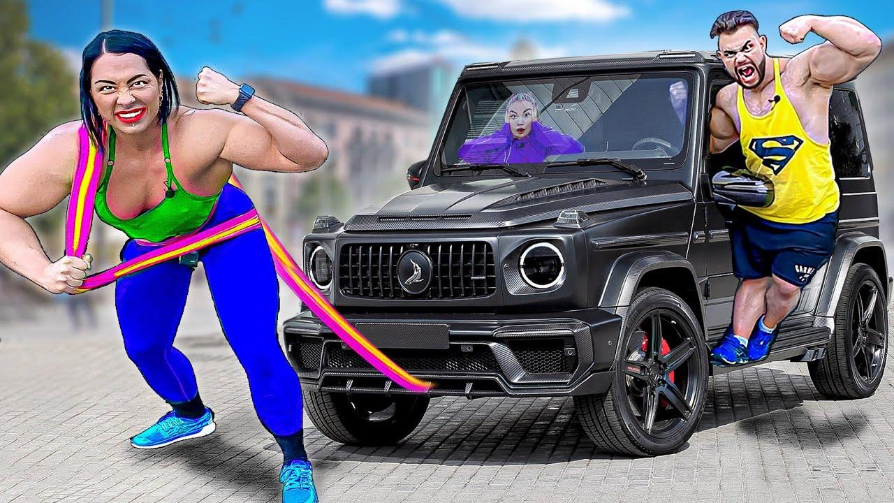 Самая Сильная Женщина В Мире VS Самый Сильный Человек В Мире —  Челлендж !