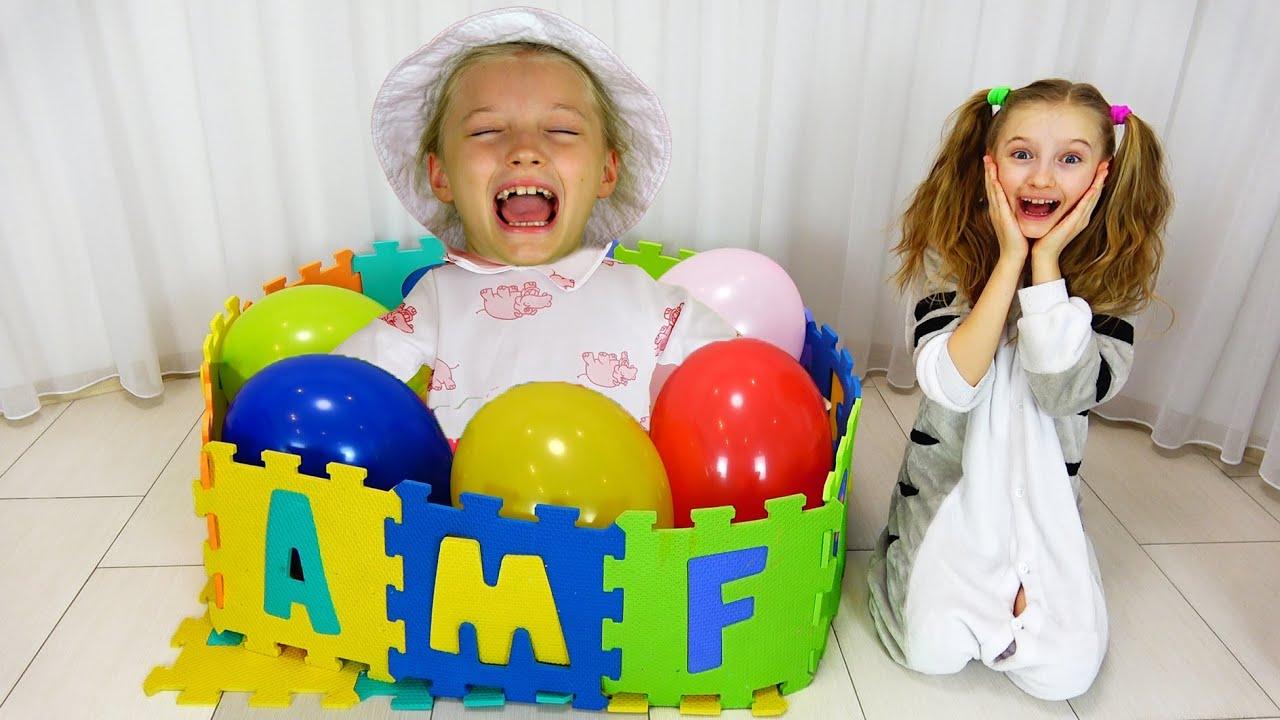 Супер Полина — Полина воспитывает малышку в детском саду