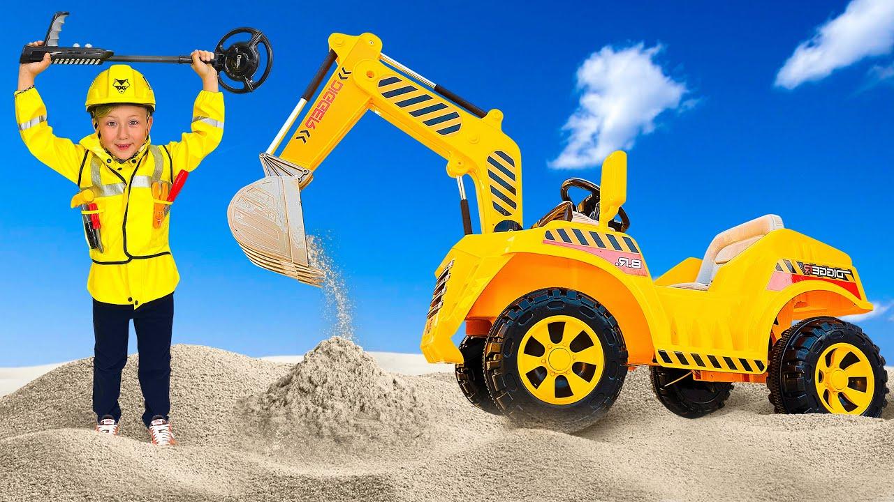 Супер Сеня — СЕНЯ и его Новый Детский Трактор