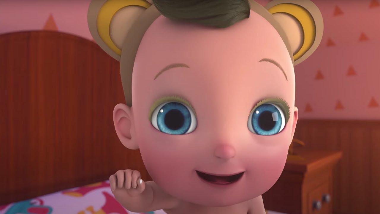 Теремок ТВ — Ну-Ну — 5 мартышек — NuNu 5 monkeys — Песенки для детей