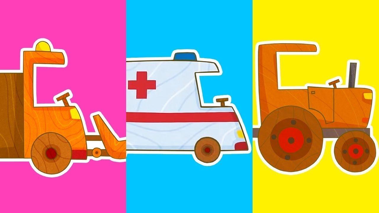 ТВ Деткам — Машинки — сериал для мальчиков 🔴 Мультики для детей