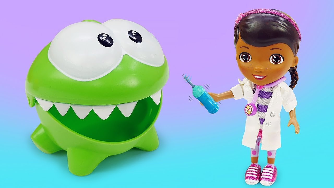 ДиДи ТВ — Ам Ням и его больные зубки! Развивающие мультики для малышей про игрушки и доктора Плюшеву