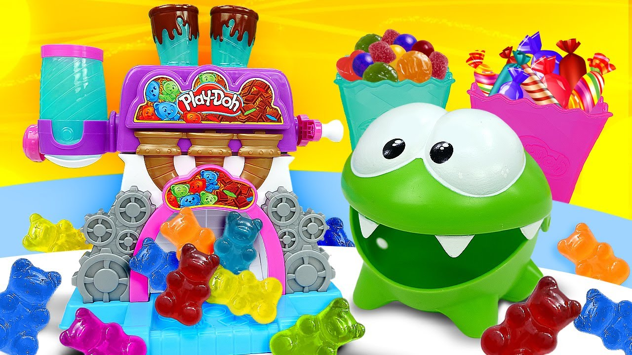 ДиДи ТВ — Ам Ням и его шоколадная фабрика! Развивающие мультики для малышей