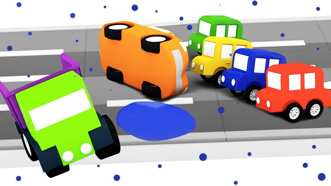 ДиДи ТВ — Мультики для детей: 4 машинки собирают эвакуатор! Сборник мультфильмов для малышей