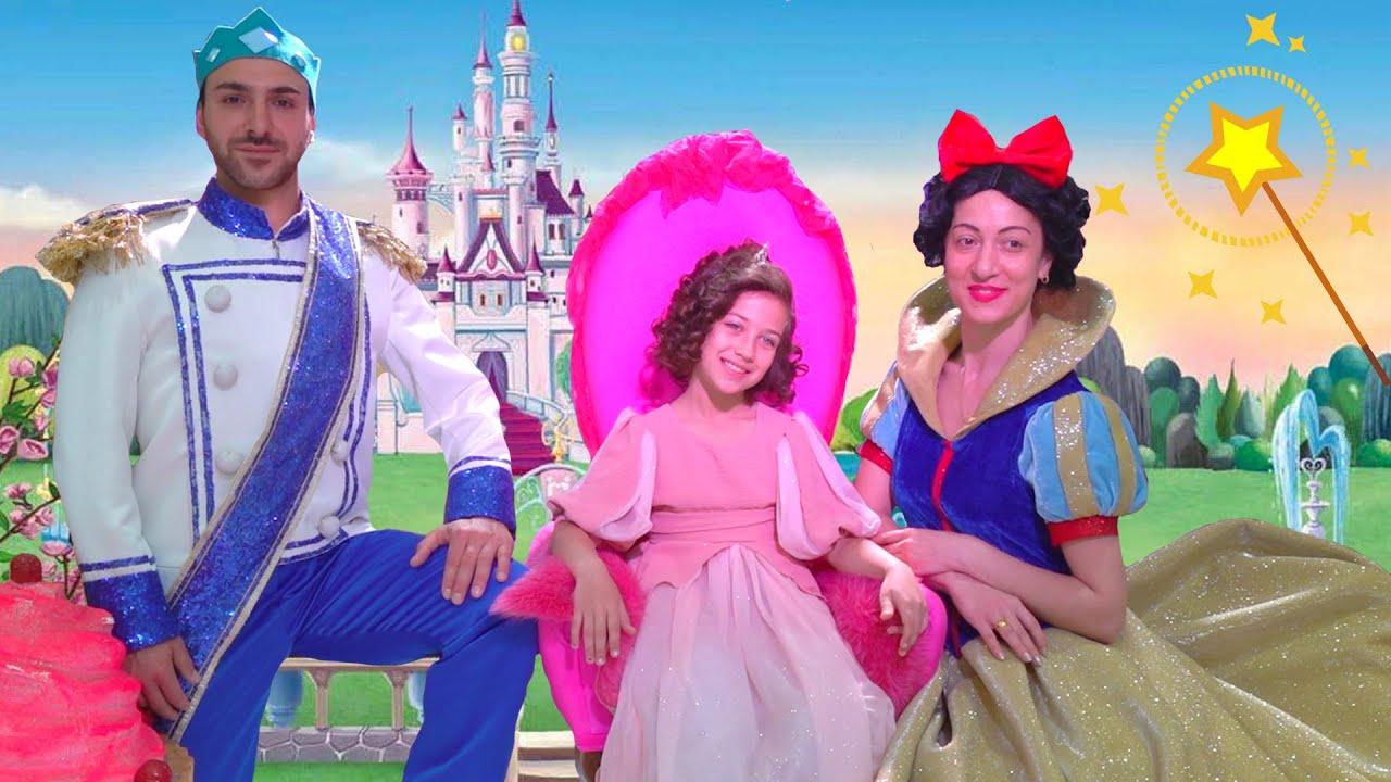 Эмилюша представляет — Эмилюша превратилась в Принцессу танцует с Принцем и Marshmello на Балу