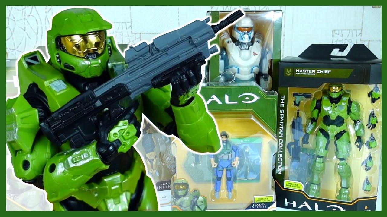 Каляка Маляка — Фигурки Хало. Открываем крутые игрушки Halo Infinite. Мастер Чиф.