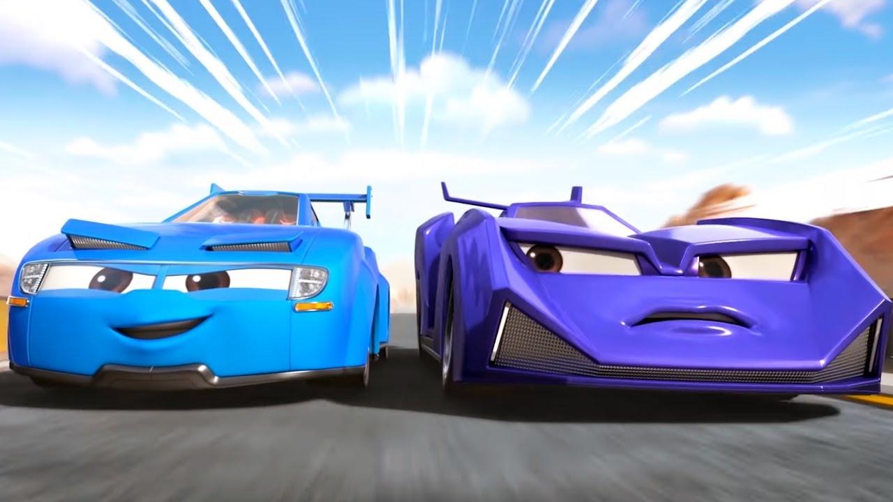 Легенды Спарка. Гонки — полный улёт! 🚘 Зов мотора + Неожиданный соперник (1 и 2 серии) 🏎 Машинки