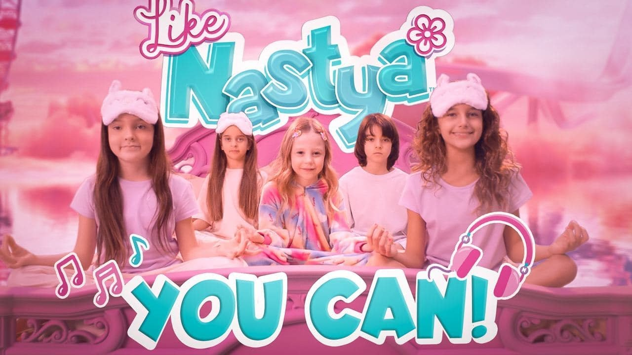 Like Nastya — You Can — Kids Song (Official Music Video)