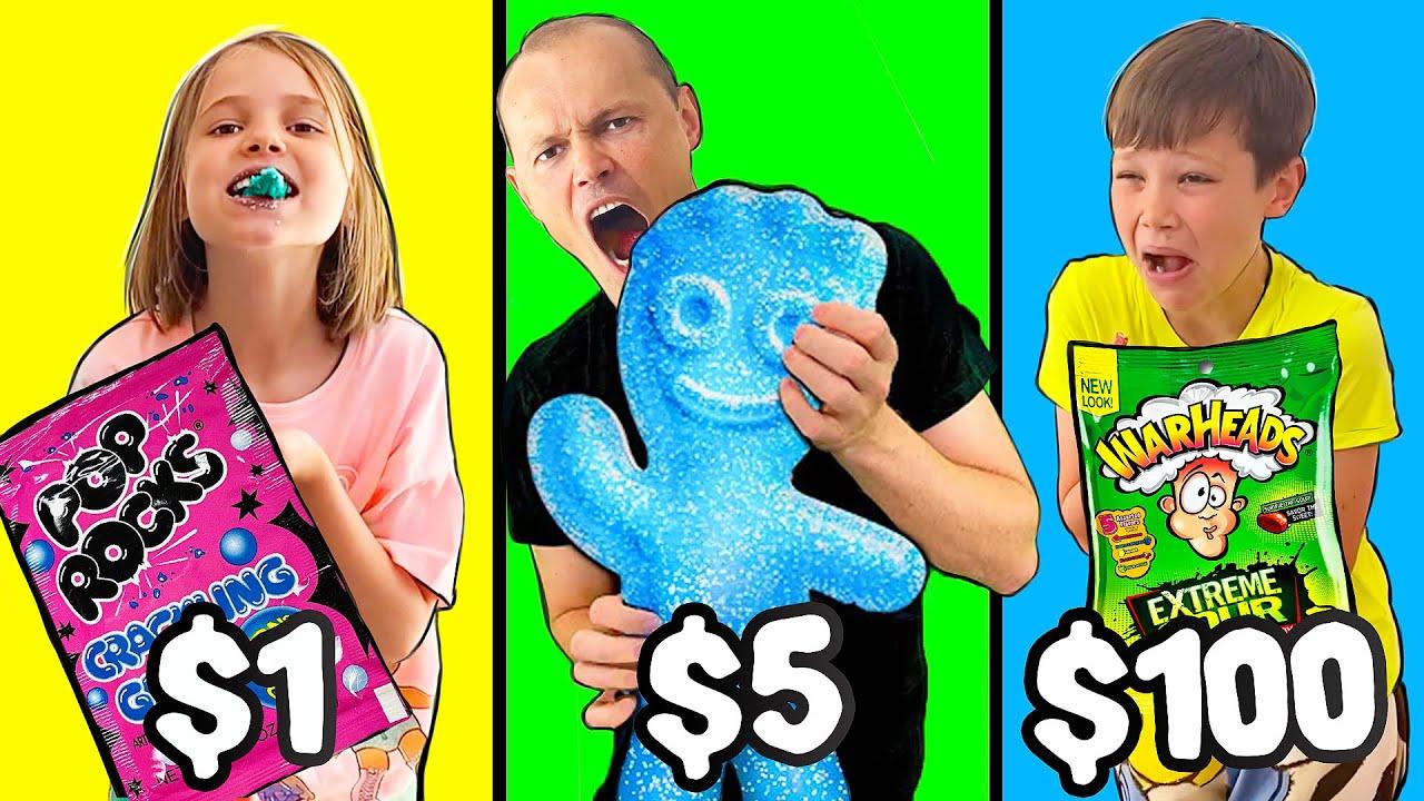 Мистер Макс — Кислые конфеты челлендж на деньги