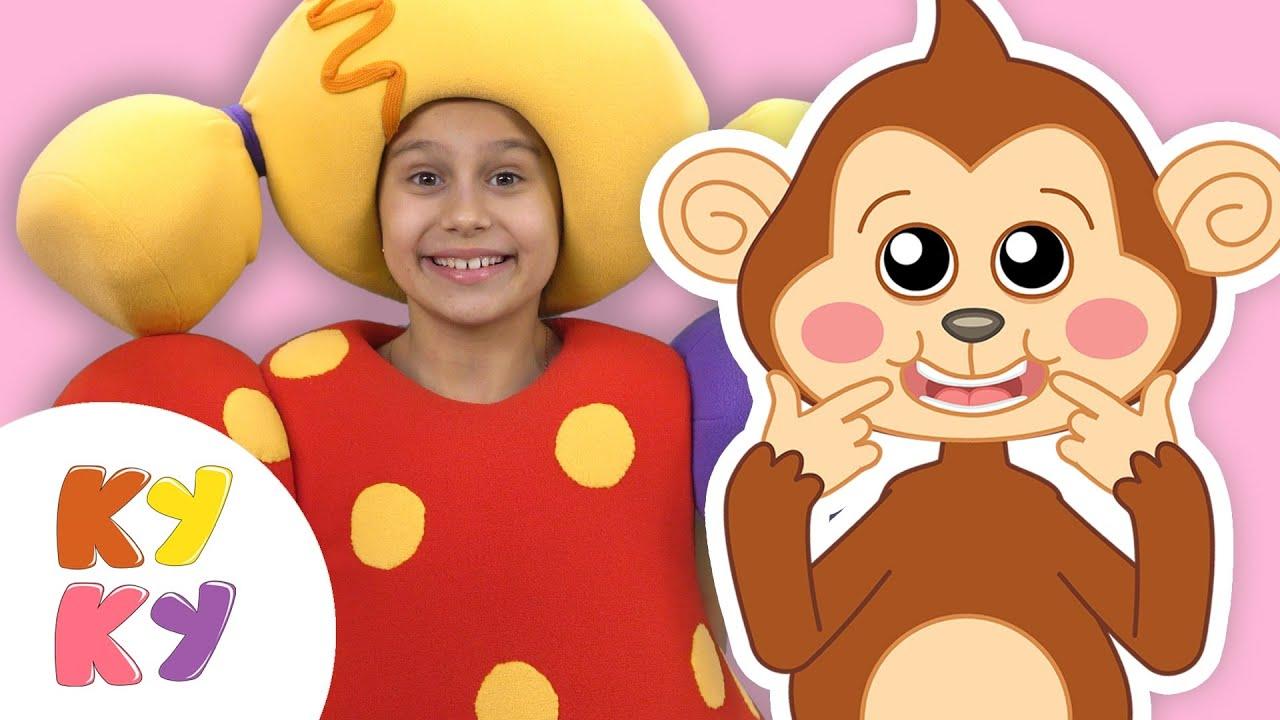 Премьера! МАКАКА УЛЫБАКА — Кукутики — Песенки для детей малышей про животных