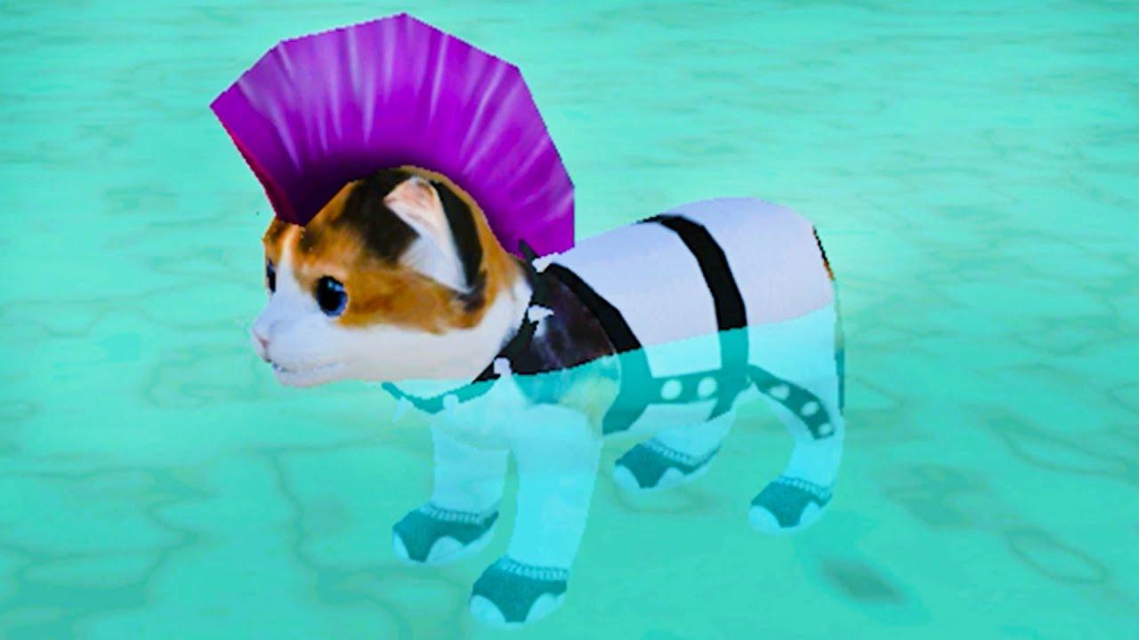 Пурумчата — Симулятор Кота Жизнь Животных #5 Обновление. Пляж Cat Simulator на пурумчата